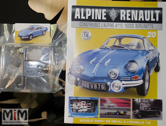 Alpine Renault A110 1600S berlinette - Fascicule 20