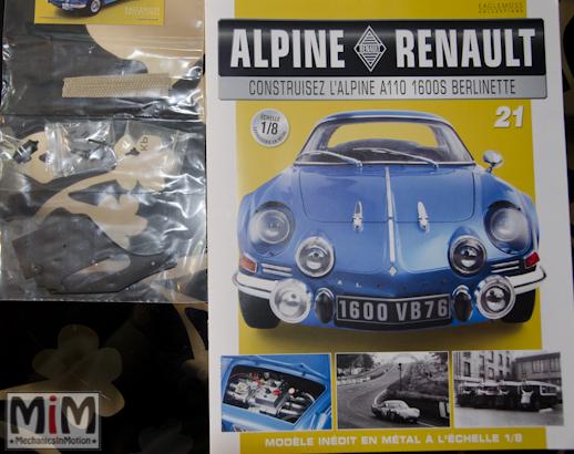 Alpine Renault A110 1600S berlinette - Fascicule 21