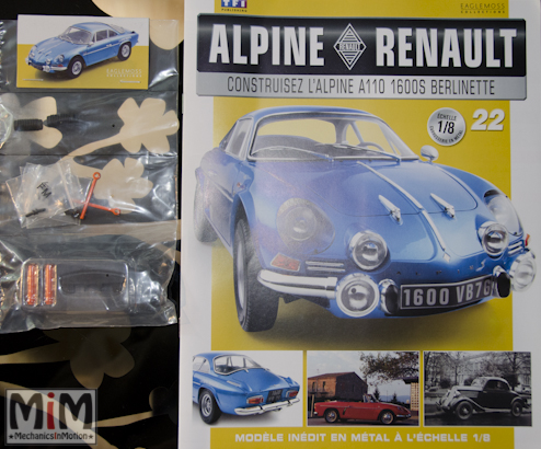 Alpine Renault A110 1600S berlinette - Fascicule 22