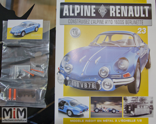 Alpine Renault A110 1600S berlinette - Fascicule 23