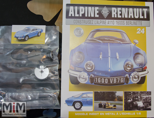 Alpine Renault A110 1600S berlinette - Fascicule 24