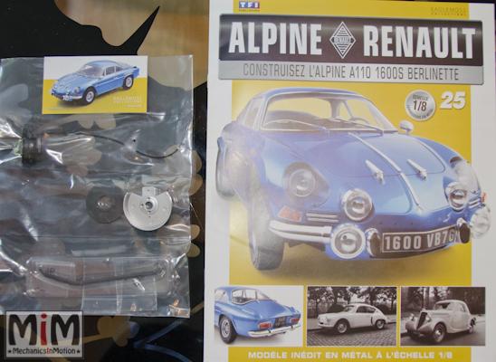 Alpine Renault A110 1600S berlinette - Fascicule 25