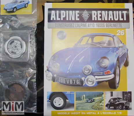 Alpine Renault A110 1600S berlinette - Fascicule 26