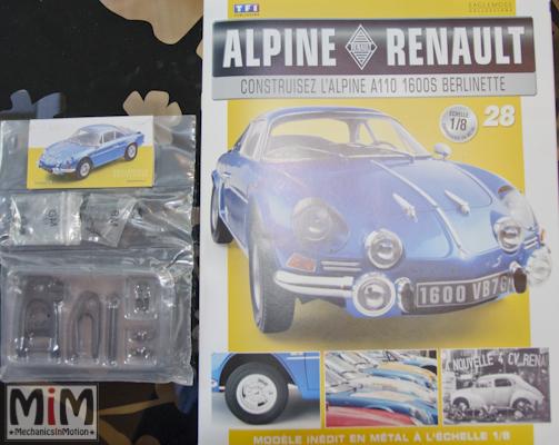 Alpine Renault A110 1600S berlinette - Fascicule 28