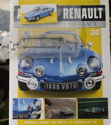 Alpine Renault A110 1600S berlinette - Fascicule 30