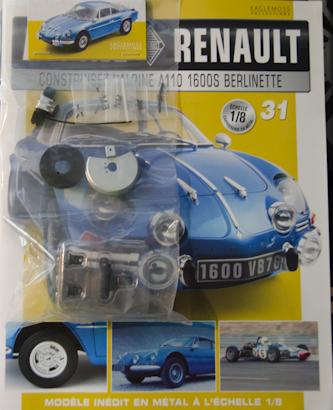 Alpine Renault A110 1600S berlinette - Fascicule 31
