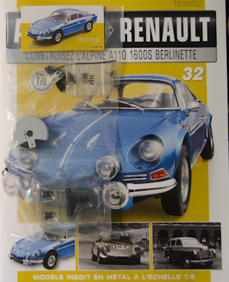 Alpine Renault A110 1600S berlinette - Fascicule 32
