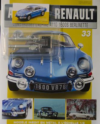 Alpine Renault A110 1600S berlinette - Fascicule 33