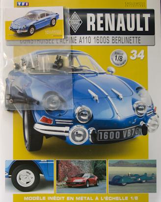 Alpine Renault A110 1600S berlinette - Fascicule 34