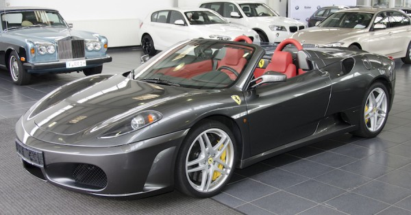 Ferrari F430 Spider F1 : Roadtrip