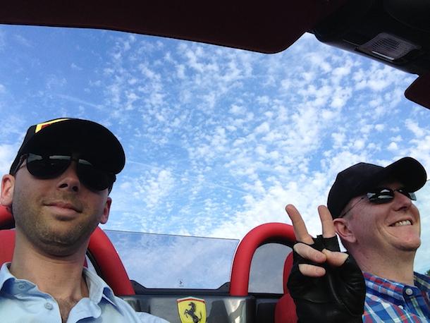 Ferrari F430 Spider F1 - les premiers kilomètres