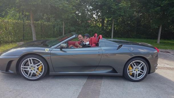 Ferrari F430 spider F1 - Les premiers baptêmes