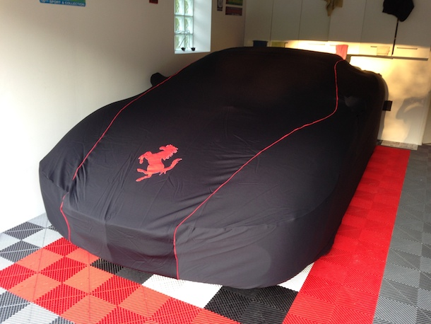 Ferrari F430 spider F1 housse