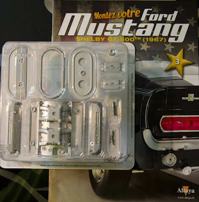 Ford Mustang Shelby GT 500 au 1:8 - fascicule 3