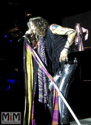 Steven Tyler chanteur emblématique d'Aérosmith