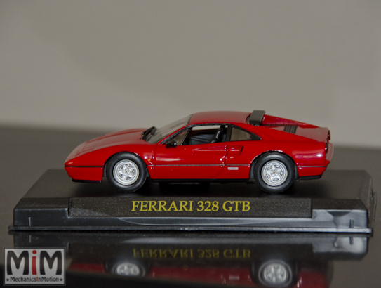 Hachette GT Collection Ferrari 328 GTB