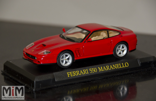 Hachette GT Collection Ferrari 550 Maranello