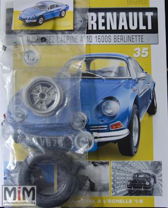 Alpine Renault A110 1600S berlinette - Fascicule 35