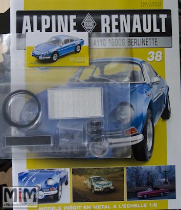 Alpine Renault A110 1600S berlinette - Fascicule 38
