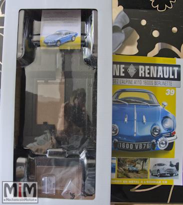 Alpine Renault A110 1600S berlinette - Fascicule 39