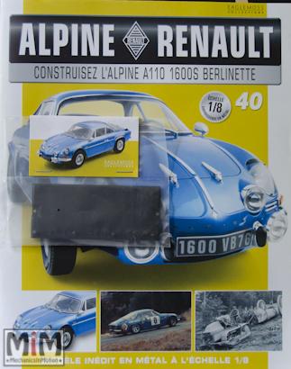 Alpine Renault A110 1600S berlinette - Fascicule 40