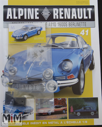 Alpine Renault A110 1600S berlinette - Fascicule 41