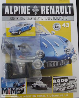 Alpine Renault A110 1600S berlinette - Fascicule 43