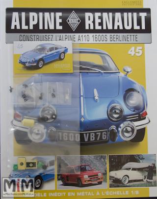 Alpine Renault A110 1600S berlinette - Fascicule 45