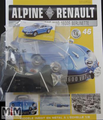 Alpine Renault A110 1600S berlinette - Fascicule 46
