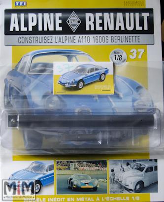 Alpine Renault A110 1600S berlinette - Fascicule 37