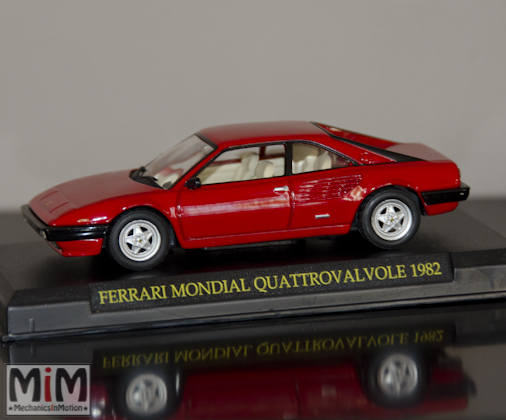 Hachette GT Collection Ferrari Mondial Quattrovalvolve 1982
