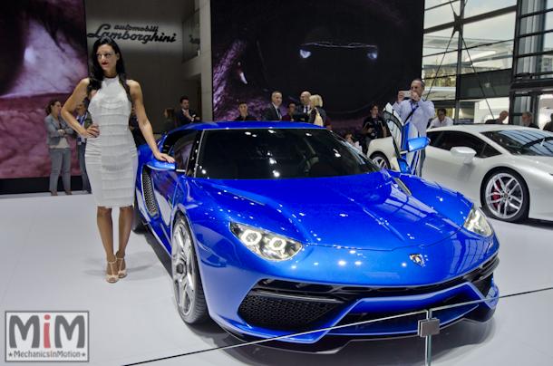 Lamborghini Asterion mondial auto 2014