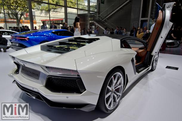 Lamborghini Aventador LP 700-4 mondial auto 2014