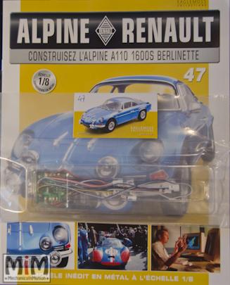 Alpine Renault A110 1600S berlinette - Fascicule 47