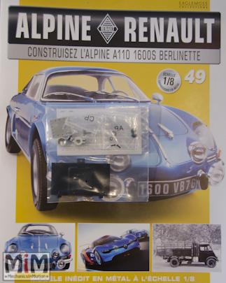 Alpine Renault A110 1600S berlinette - Fascicule 49