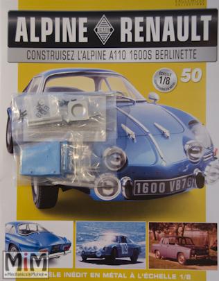 Alpine Renault A110 1600S berlinette - Fascicule 50