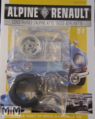 Alpine Renault A110 1600S berlinette - Fascicule 51
