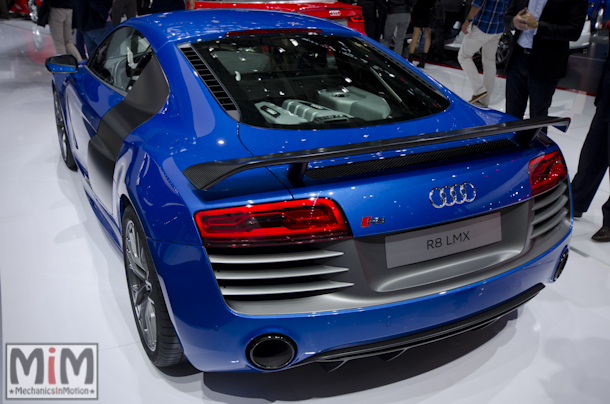 Mondial automobile Paris 2014 Audi R8 LMX