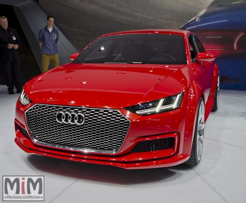 Mondial automobile Paris 2014 Audi TT Sportback concept