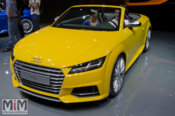 Mondial automobile Paris 2014 Audi TTS Roadster