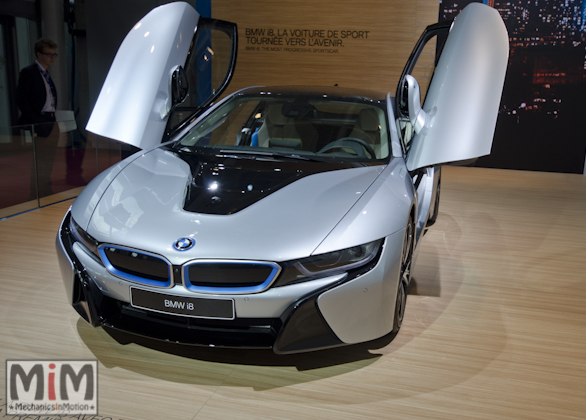 Mondial automobile Paris 2014 BMW I8