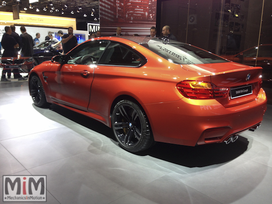 Mondial automobile Paris 2014 BMW M4 Coupé