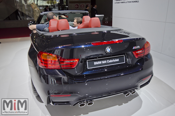 Mondial automobile Paris 2014 BMW M4 cabriolet
