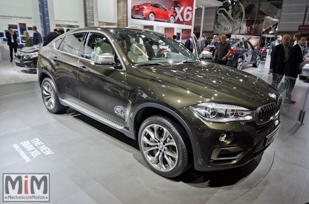 Mondial automobile Paris 2014 BMW X6