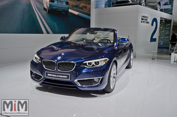 Mondial automobile Paris 2014 BMW série 2 cabriolet