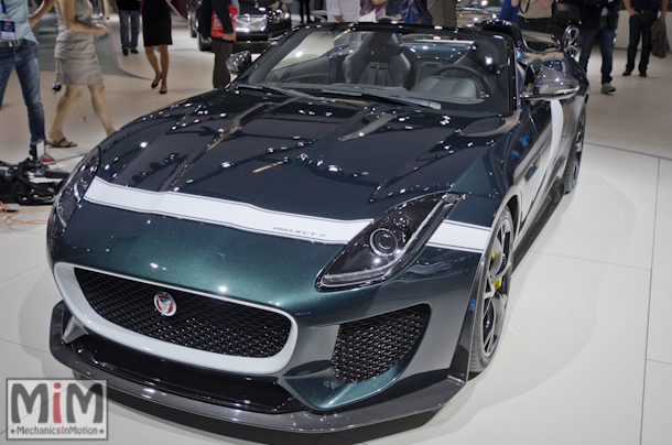 Mondial automobile Paris 2014 Jaguar Project 7