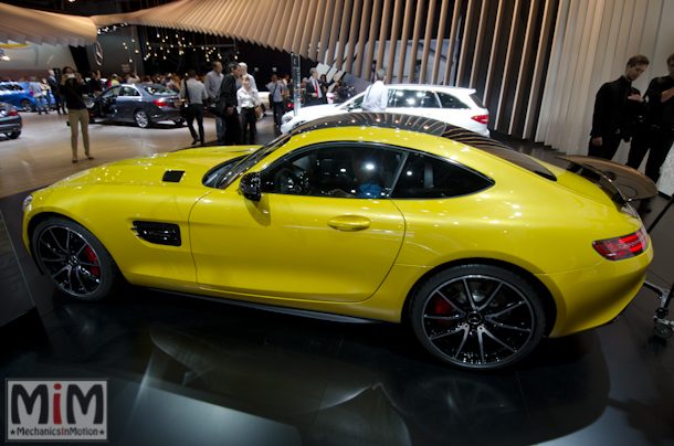 Mondial automobile Paris 2014 Mercedes AMG GTS