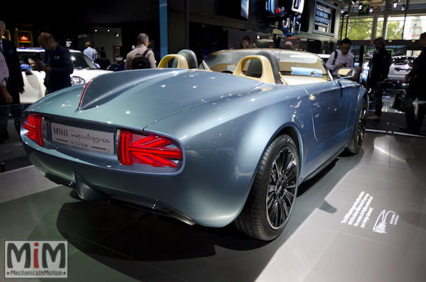 Mondial automobile Paris 2014 Mini Superleggera Vision Concept