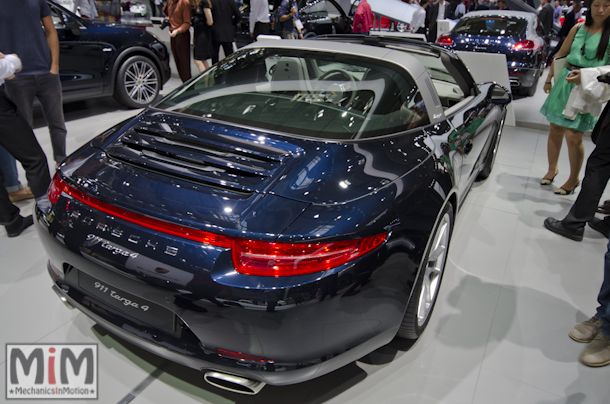 Mondial automobile Paris 2014 Porsche Targa 4