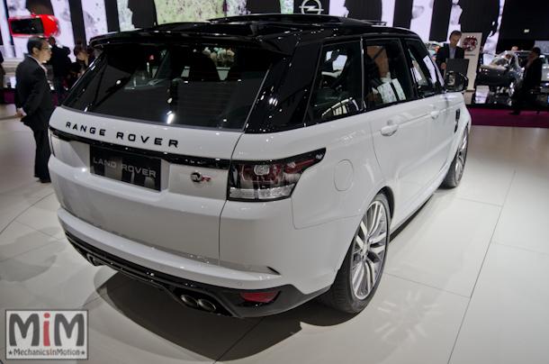 Mondial automobile Paris 2014 Range Rover SVR